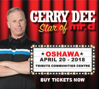 Gerry Dee Star of Mr. D