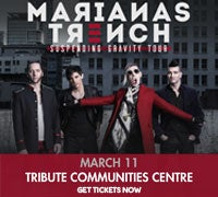 Marianas Trench - Buy Tickets Now