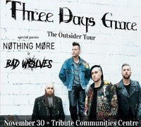 Three Days Grace Tickets On Sale Now