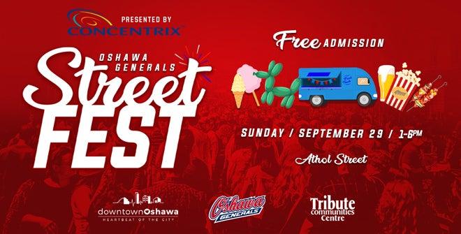 Oshawa Generals Street Fest