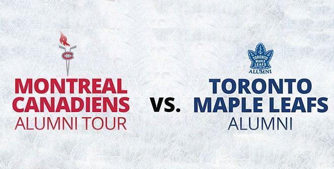 Montreal Canadiens Alumni vs Toronto Maple Leafs Alumni